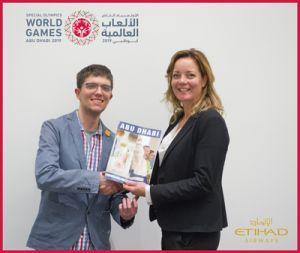 Etihad Airways officiële reispartner WSG 2019
